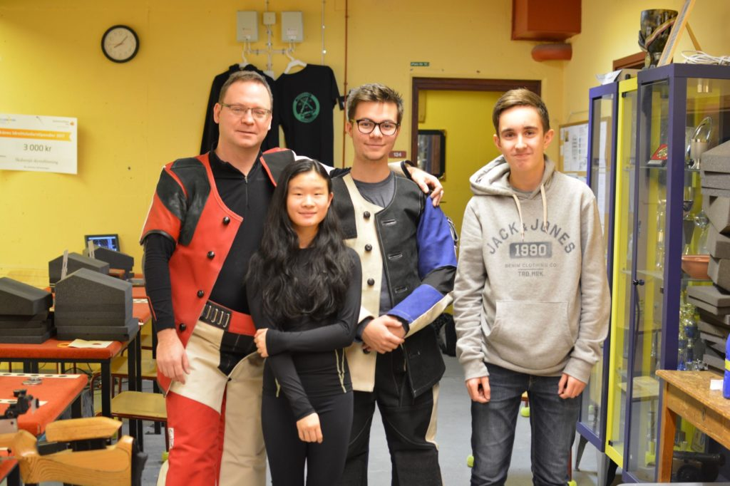 Anders, Linn, Alexander och Gustav